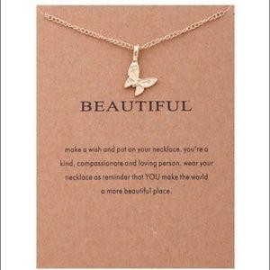 Jewelry - Dainty Butterfly Necklace - BEAUTIFUL